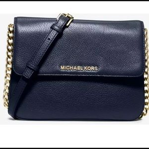 New Michael Kors Bedford crossbody purse.